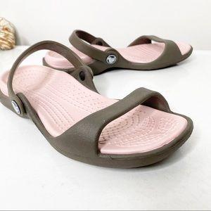 Crocs sandals 6